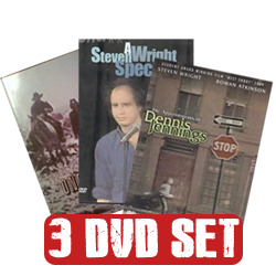 Steven Wright - 3 DVD Set