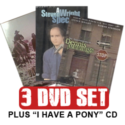 Steven Wright - 3 DVD and CD Set